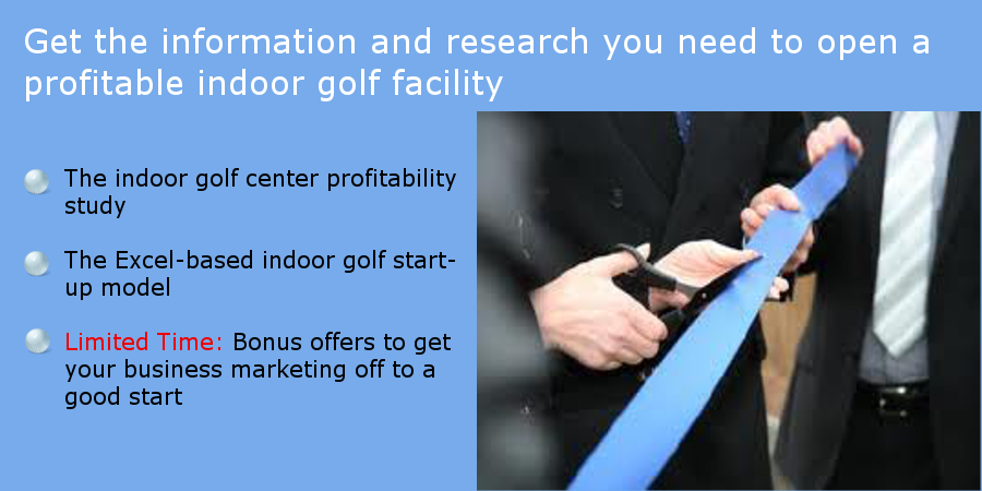 The Indoor Golf Study And Excel Business Model